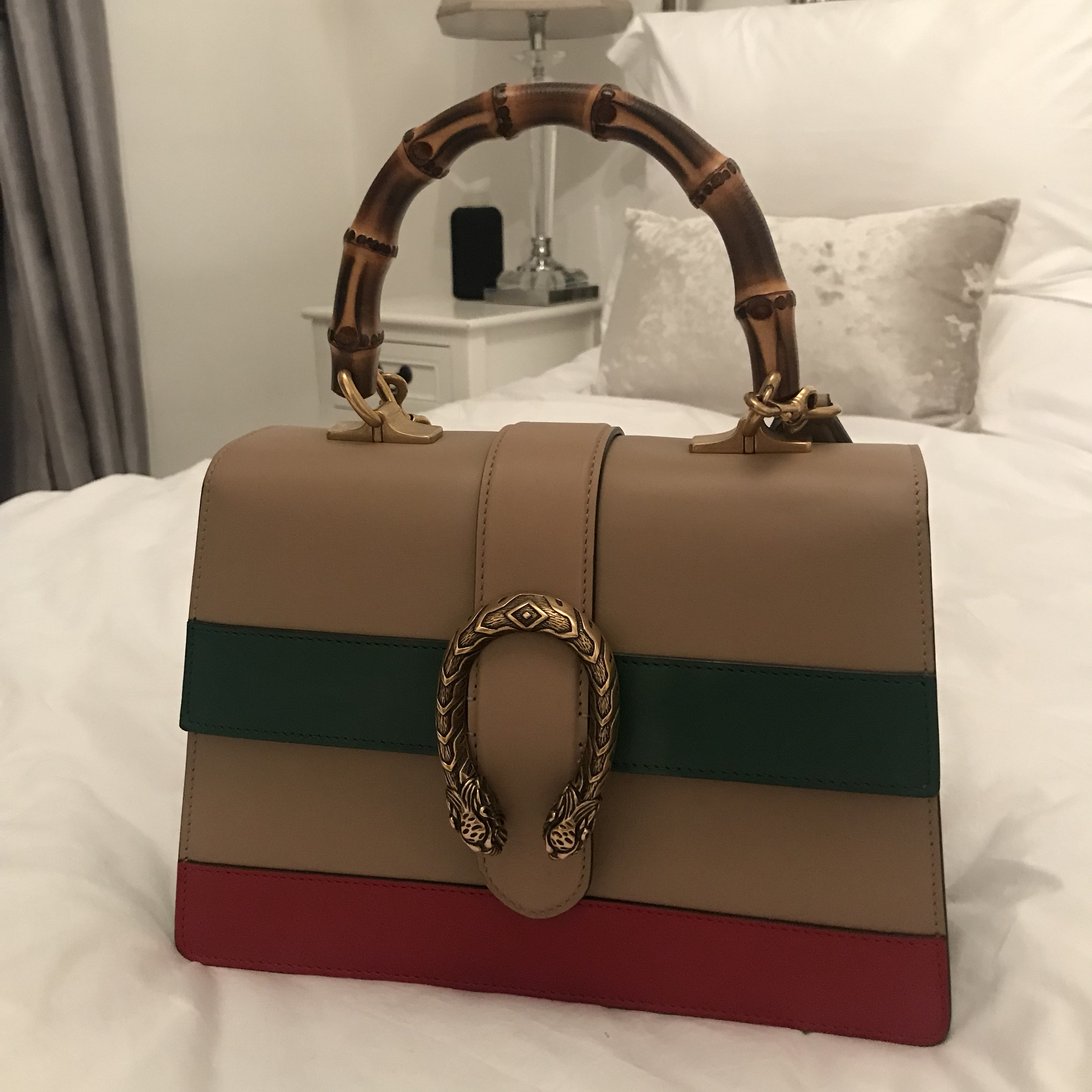 aa0d24bee lydiaemillen. Milton Keynes, United Kingdom. GUCCI DIONYSUS BAMBOO HANDLE  SIZE SMALL IMMACULATE CONDITION ...