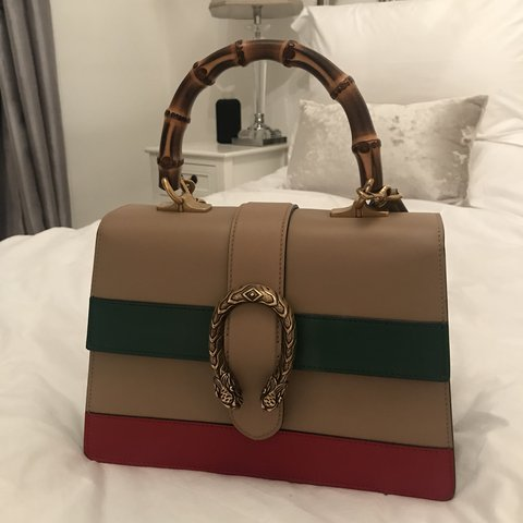 0a23eec06d7 GUCCI DIONYSUS BAMBOO HANDLE SIZE SMALL IMMACULATE CONDITION - Depop
