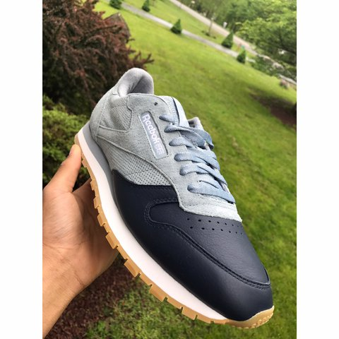 7282854ff6d92 BRAND NEW REEBOK CLASSIC CL LEATHER LS BD6078 SIZE PRICE  - Depop