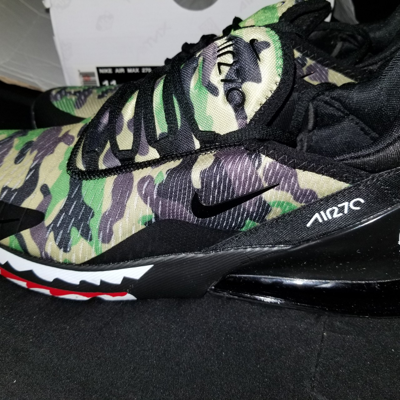 quality design 4fe00 806e7 Nike air max 270 bape Available in sizes 8-13 - Depop