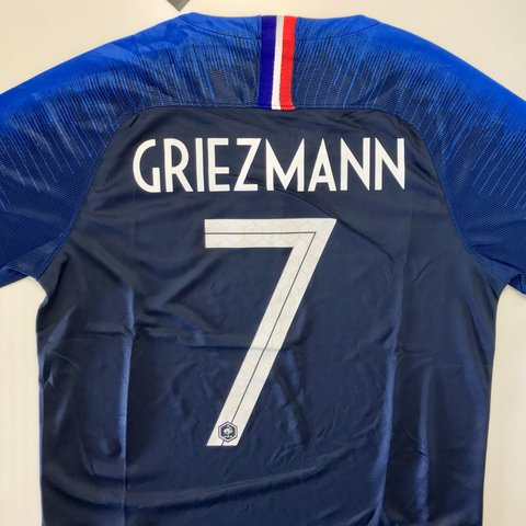3cd9f5381 2018 FIFA WORLD CUP CHAMPION FRANCE NEW RELEASE JERSE WITH 2 - Depop