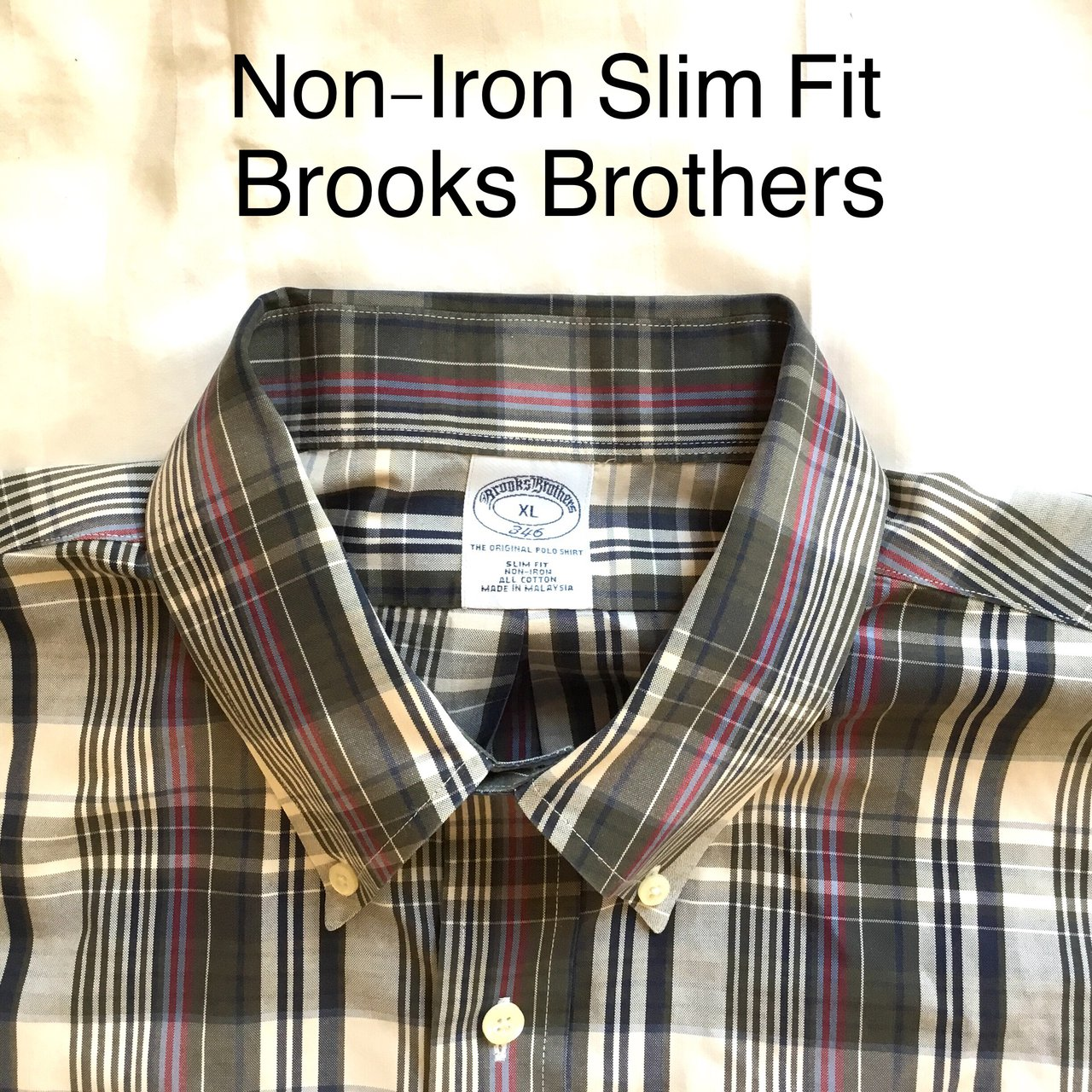 6c57695f Mens Brooks Brothers Non Iron Fitted Shirts – EDGE Engineering and ...