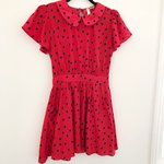 d9b14c55e62 Discount Universe super sexy red polka dot mini dress! Never - Depop
