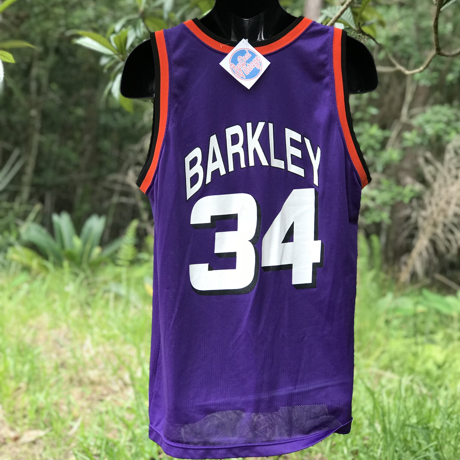 hot sale online 427d1 a8c69 Throwback Charles Barkley Champion Suns Jersey 🔥 In... - Depop