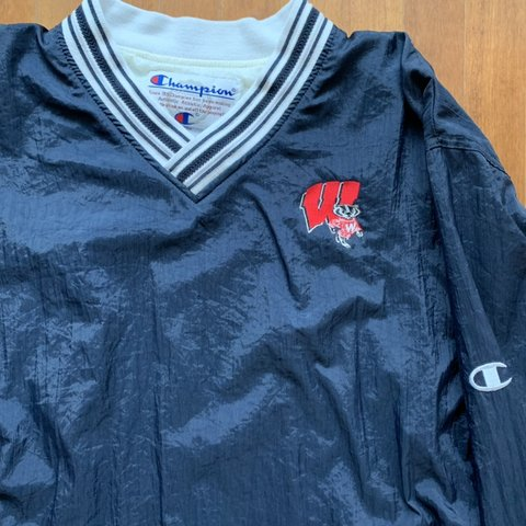 0a489926 @tightwad_. 4 days ago. Berkeley, United States. Vintage Champion Wisconsin  Badgers pullover. Size L ...