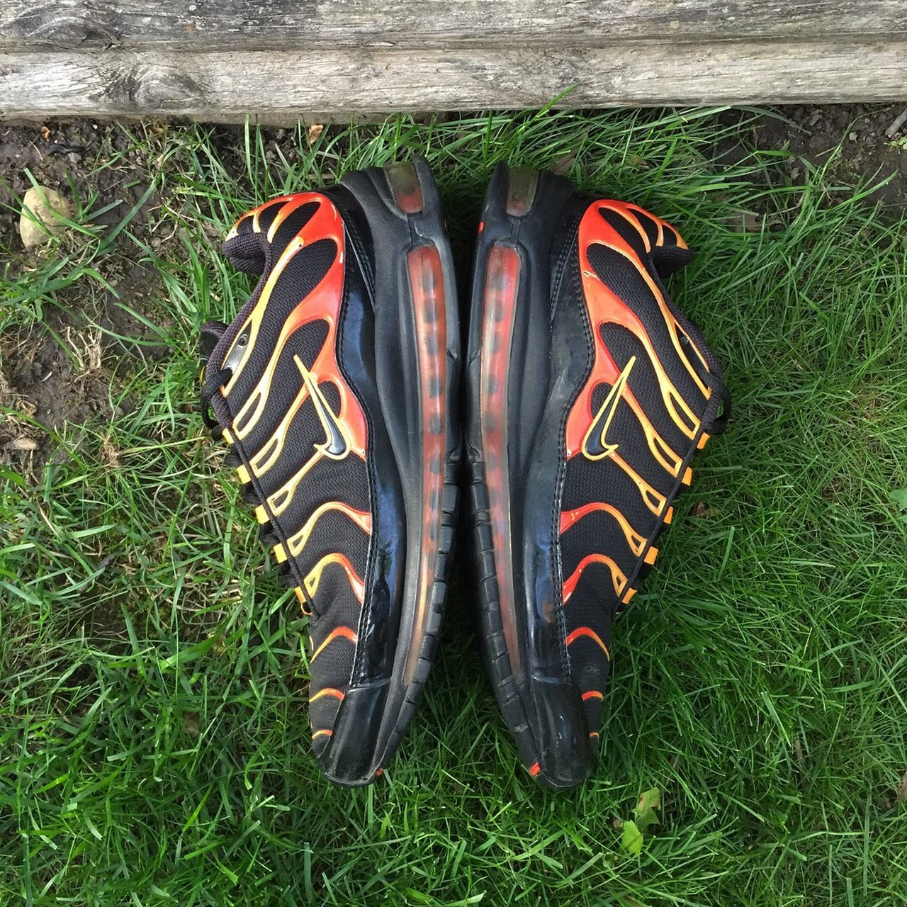 Nike Air Max 97 Plus Bullet Shark from 2008. Used but still - Depop aa93683f6