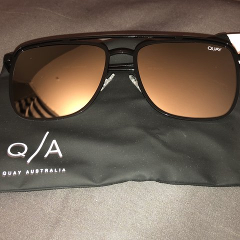 249077772c00a Quay Australia Luxury Sunglasses w  Protective (Mirrored on - Depop