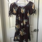 9833cc9f9 MinkPink Off the Shoulder Dress Xsmall - Depop