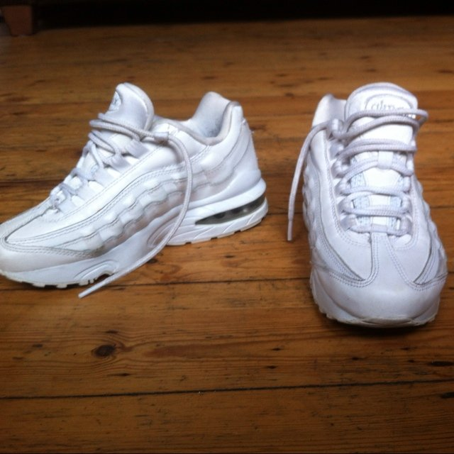 all white air max 95 for sale
