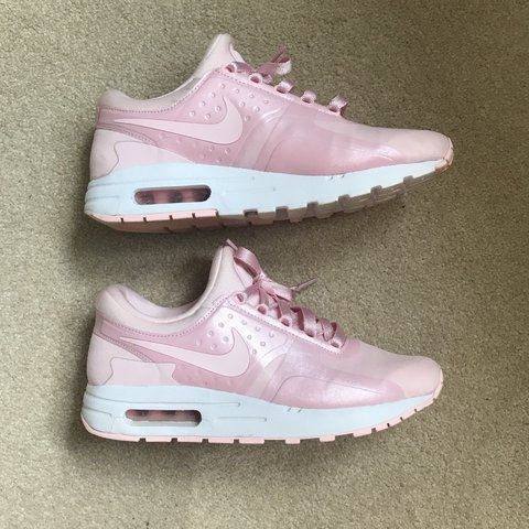 timeless design 09a6b da4f9  charliesaville27. 10 months ago. Devizes, United Kingdom. Nike Air Max Zero  in baby pink colour.