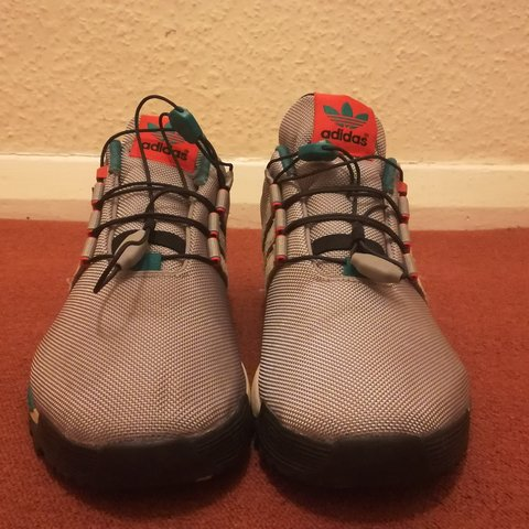 0c0ff33ca Adidas ZX Flux Winter (Due to being worn a few times) Size a - Depop