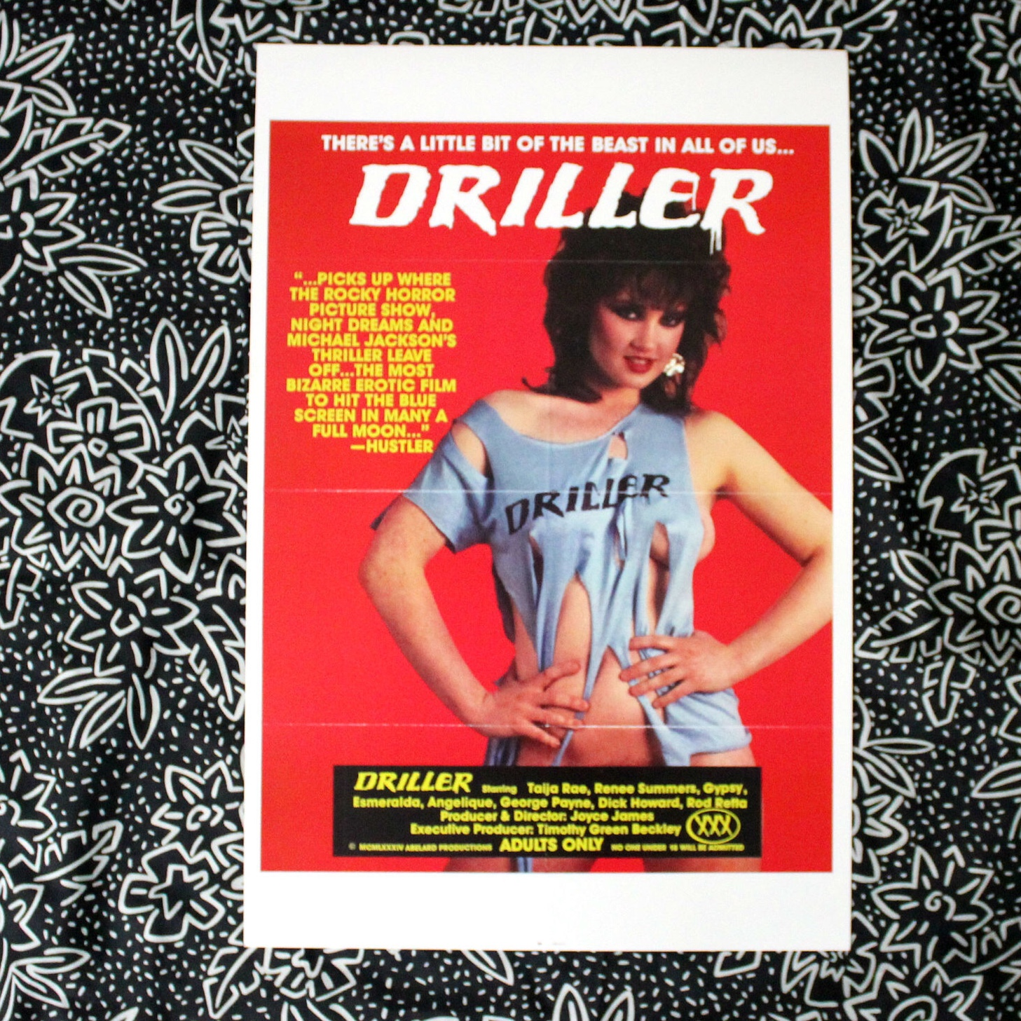 Retro porn poster print Super rare deadstock from... - Depop