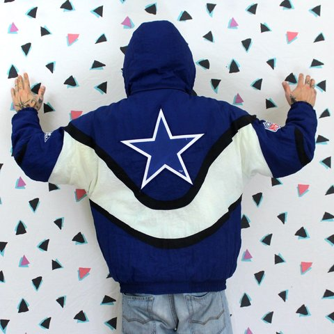 Vintage Dallas Cowboys Apex One Jacket With Removable Hood a - Depop 113d936e9