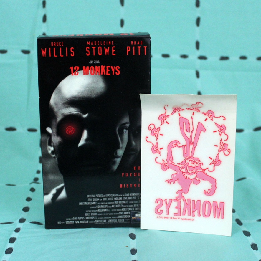 12 Monkeys VHS Tape Comes with a super rare    - Depop