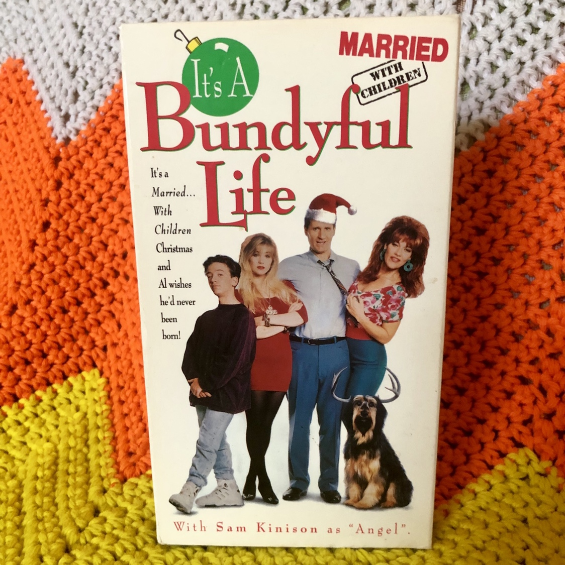 Married With Children Christmas.Married With Children Christmas Show Vhs It S A Depop