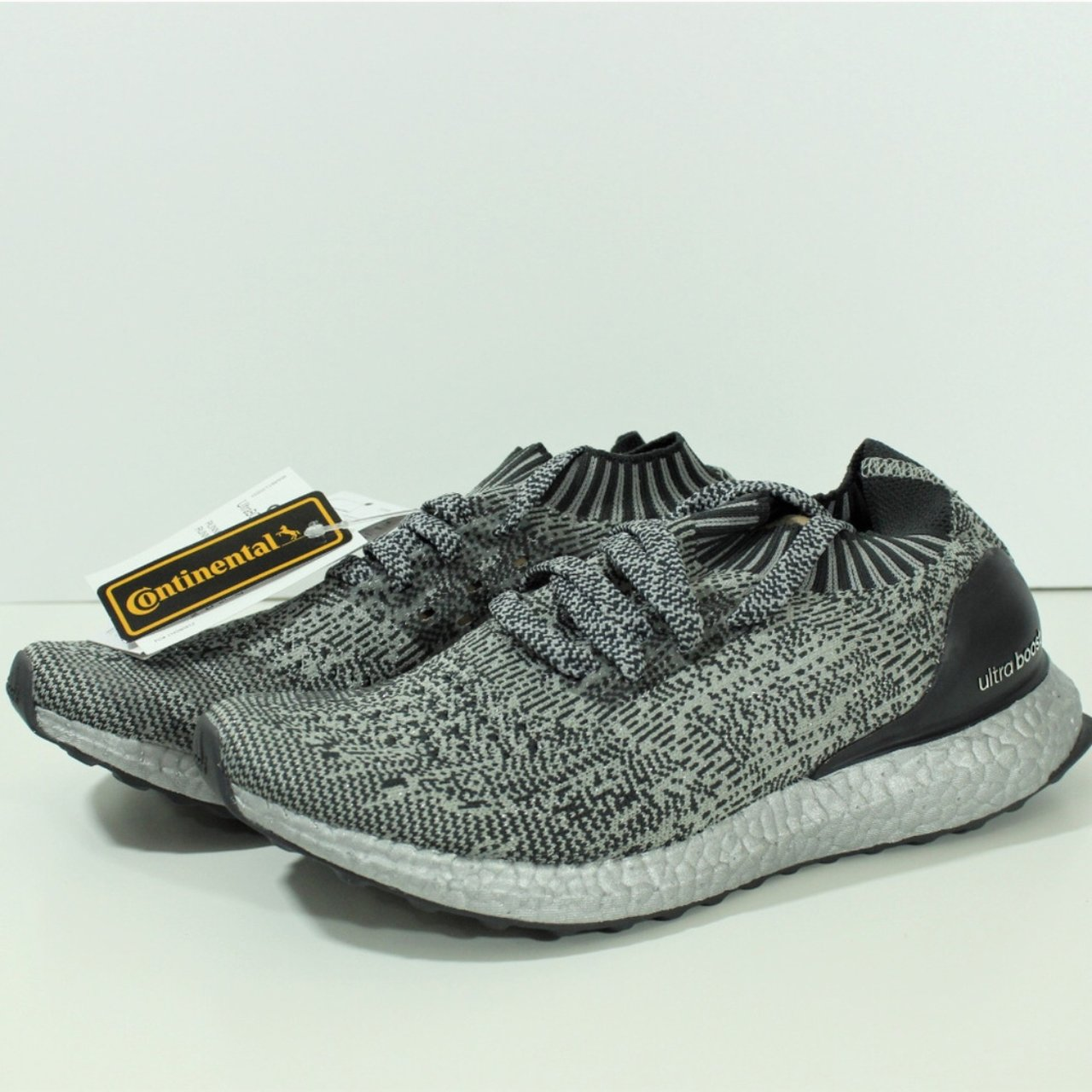 100% Authentic Adidas Ultra Boost Uncaged Silver Pack BA7997 - Depop a3d55b6eb