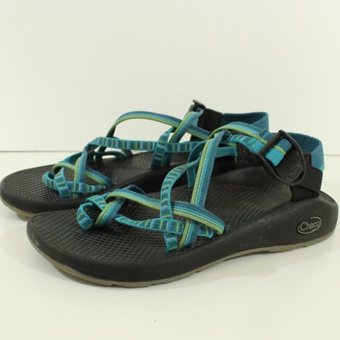 43183b56a780 100% Authentic Chacos ZX 2 Yampa Hiking Sandals River 7 NO - Depop