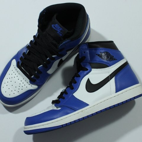 4dd0bfa11f9f Authentic Nike Air Jordan 1 Retro High OG Game Royal Blue 8 - Depop