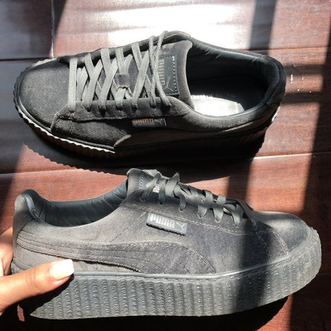ef0972b3006ef0 Fenty X Puma Creepers in Velvet GREAT CONDITION! Only worn - Depop
