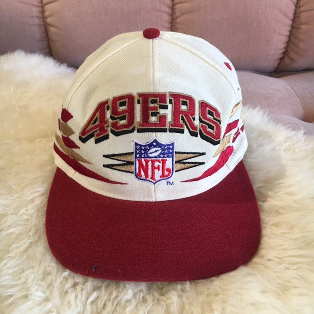 Awesome vintage 49ers SnapBack! Colors.  35 · NWT Men s Patriots NFL hat 6eb7aa613c6d