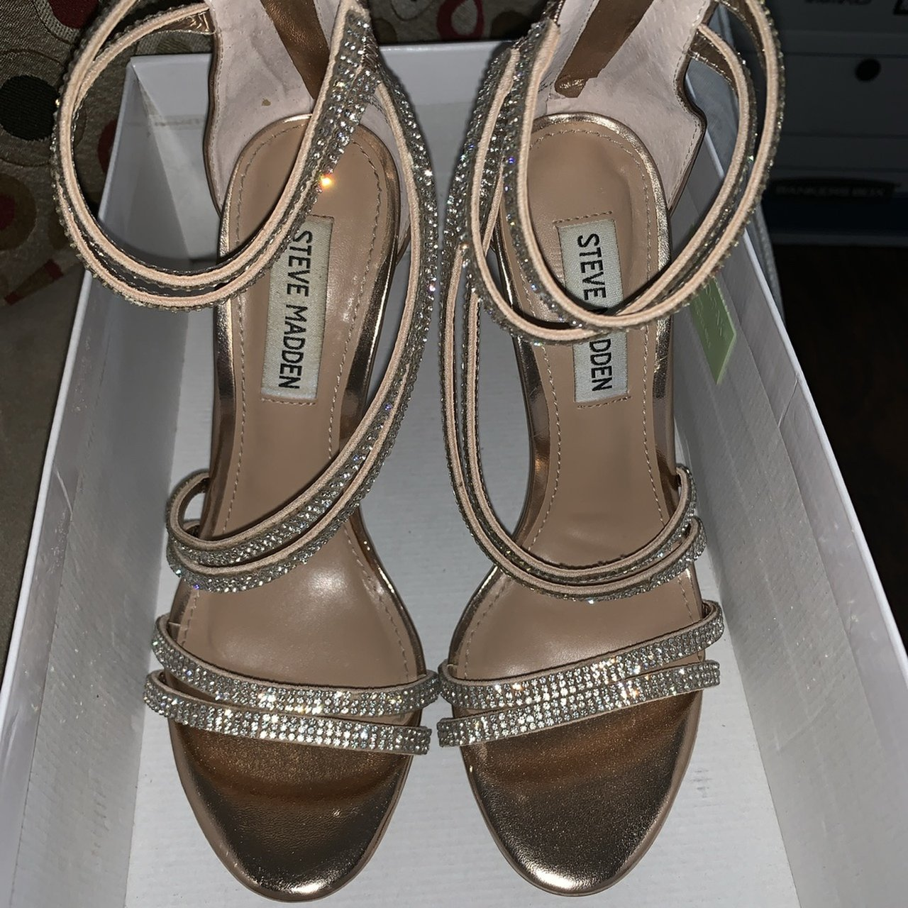 01cd9410dff Steve Madden-Sweetest Color   Rose Gold Size   6.5   Worn   - Depop