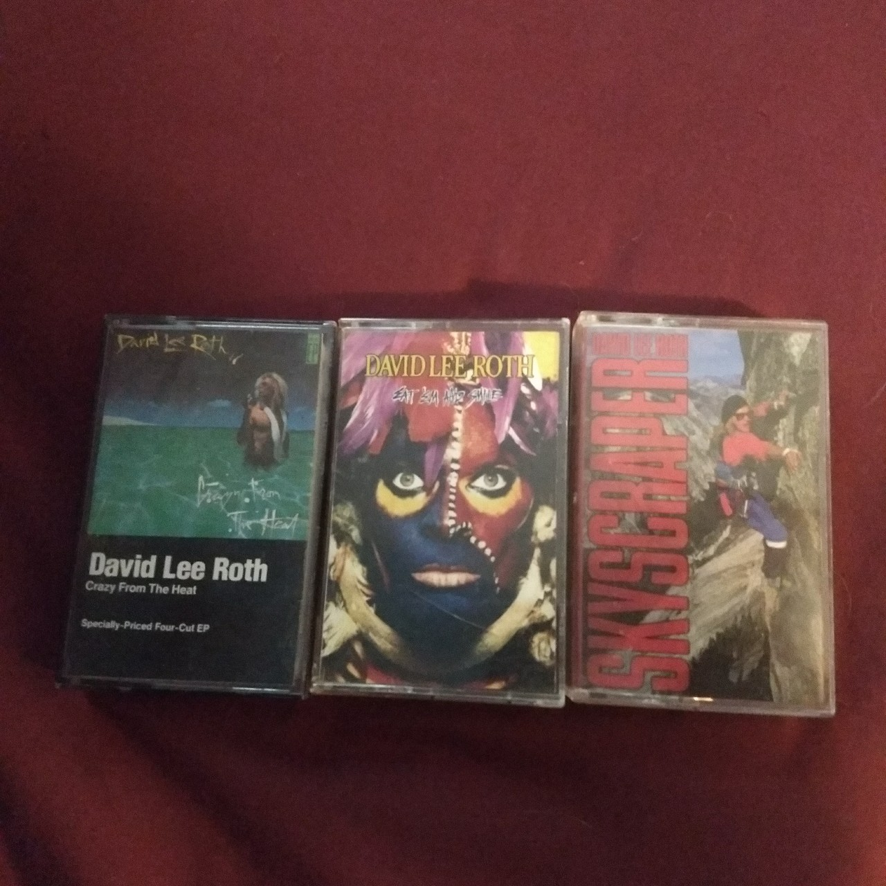 David Lee Roth Crazy From The Heat Eat Em And Depop