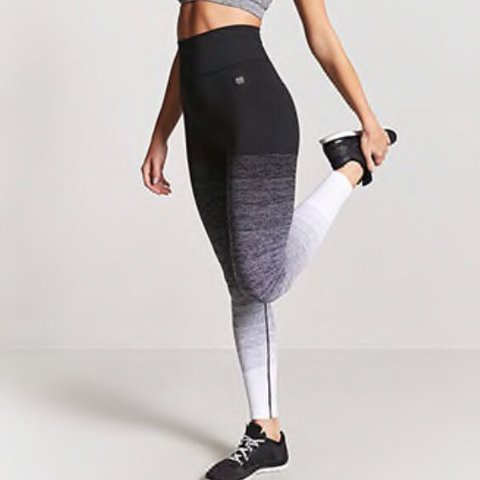 288146d501e91f @ellakbellis. 2 days ago. Liverpool, United Kingdom. Ombre high waisted  workout leggings from forever 21.