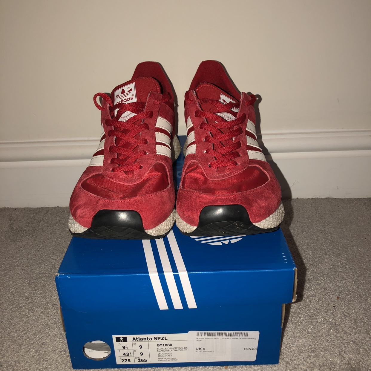 footwear popular stores cheapest price Adidas Atlanta Spezial - Size 9 - 8/10 Condition -... - Depop