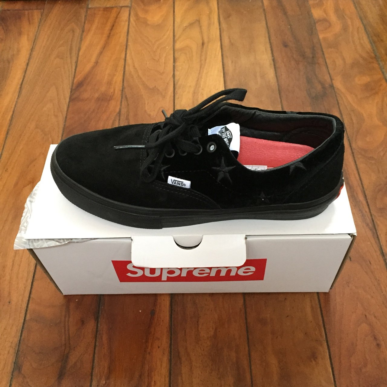 4aee3080a56 Supreme x vans era velvet pack. These were a sell out in on - Depop