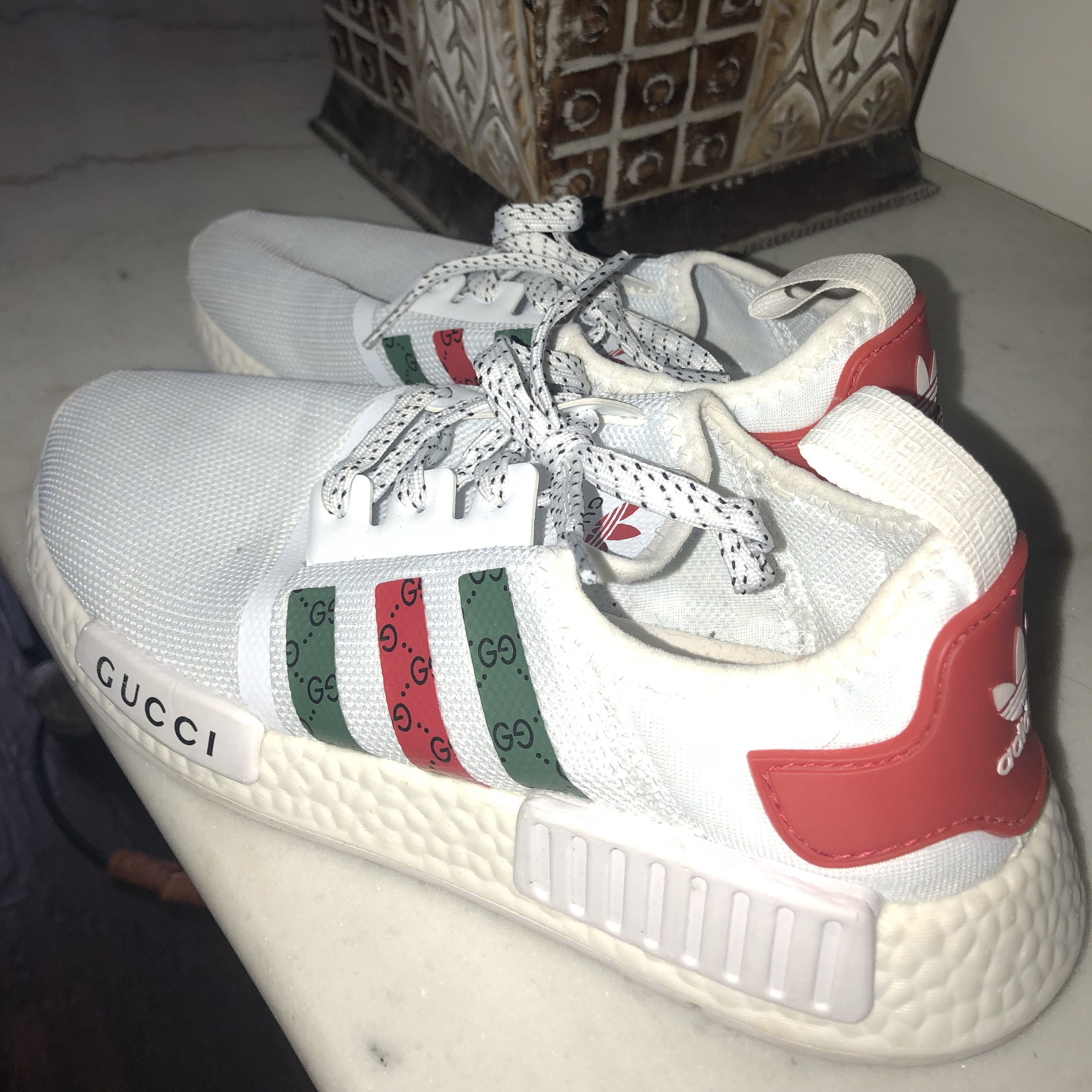 finest selection e2ab7 47fc6 Adidas x Gucci shoes. I bought these off someone... - Depop