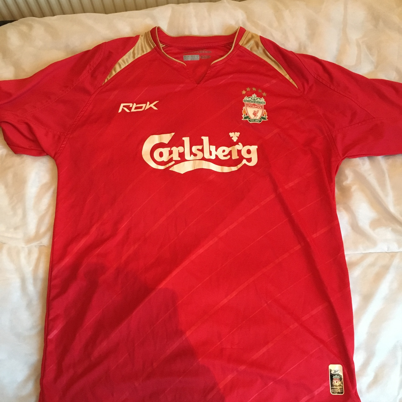 timeless design 37a85 20cf2 Very unique Liverpool shirt, limited addition.... - Depop