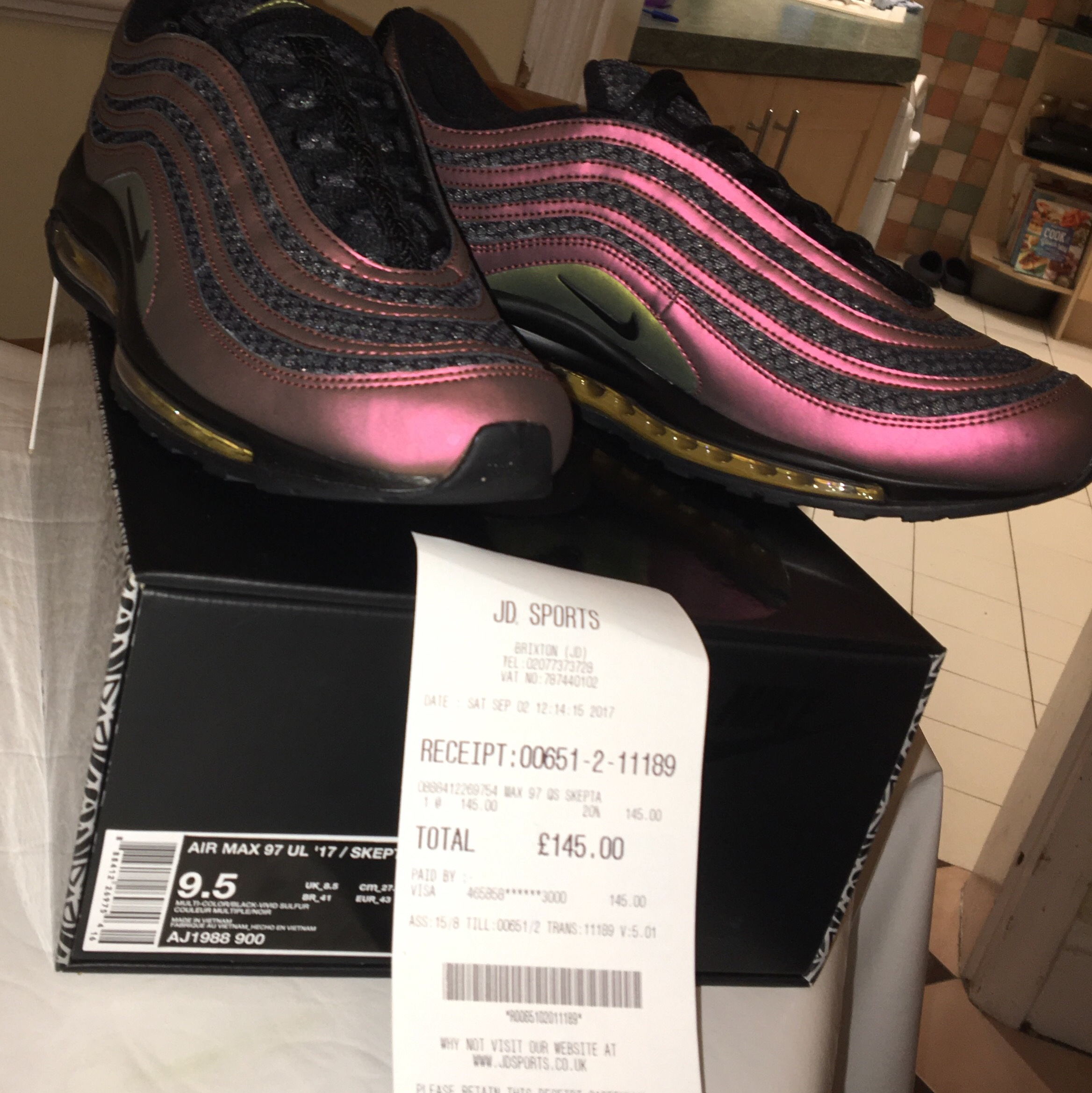Nike Air Max 97 Ultra 918356 600 Sneaker Bar Detroit