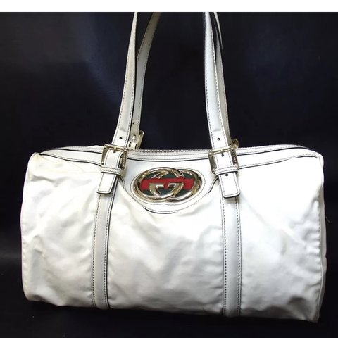 845bb3a2f52c Large Gucci GG Britt Satchel Bag. Gently preloved. No scuffs - Depop