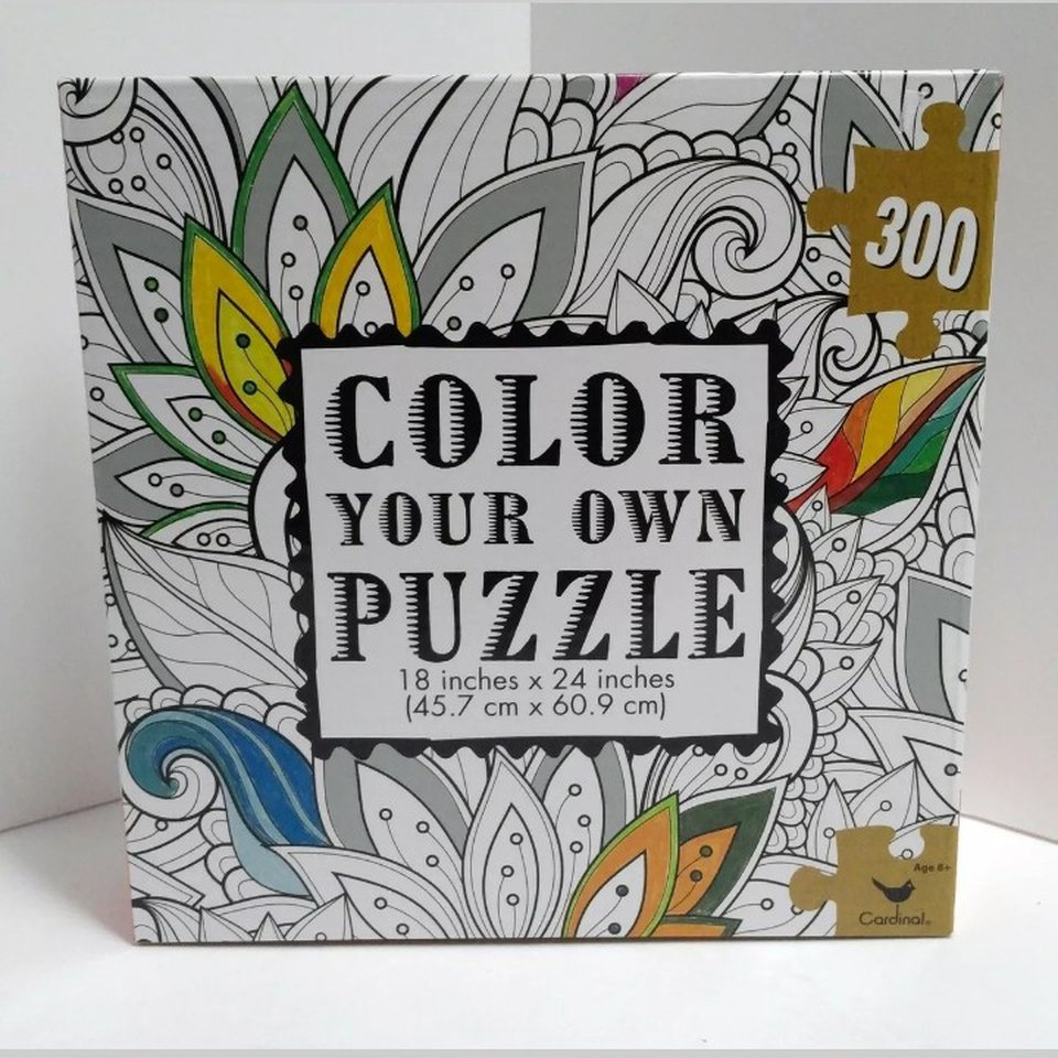 - Color Your Own Puzzle 18