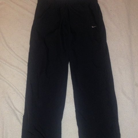 f7a66fcf69bd Item  NIKE Athletic Dept Mens Lightweight Black Track swoosh - Depop