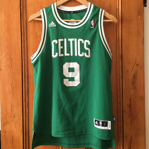 4ab47c98aed OFFICIAL ADIDAS NBA JERSEY- BOSTON CELTICS RAJON RONDO is so - Depop