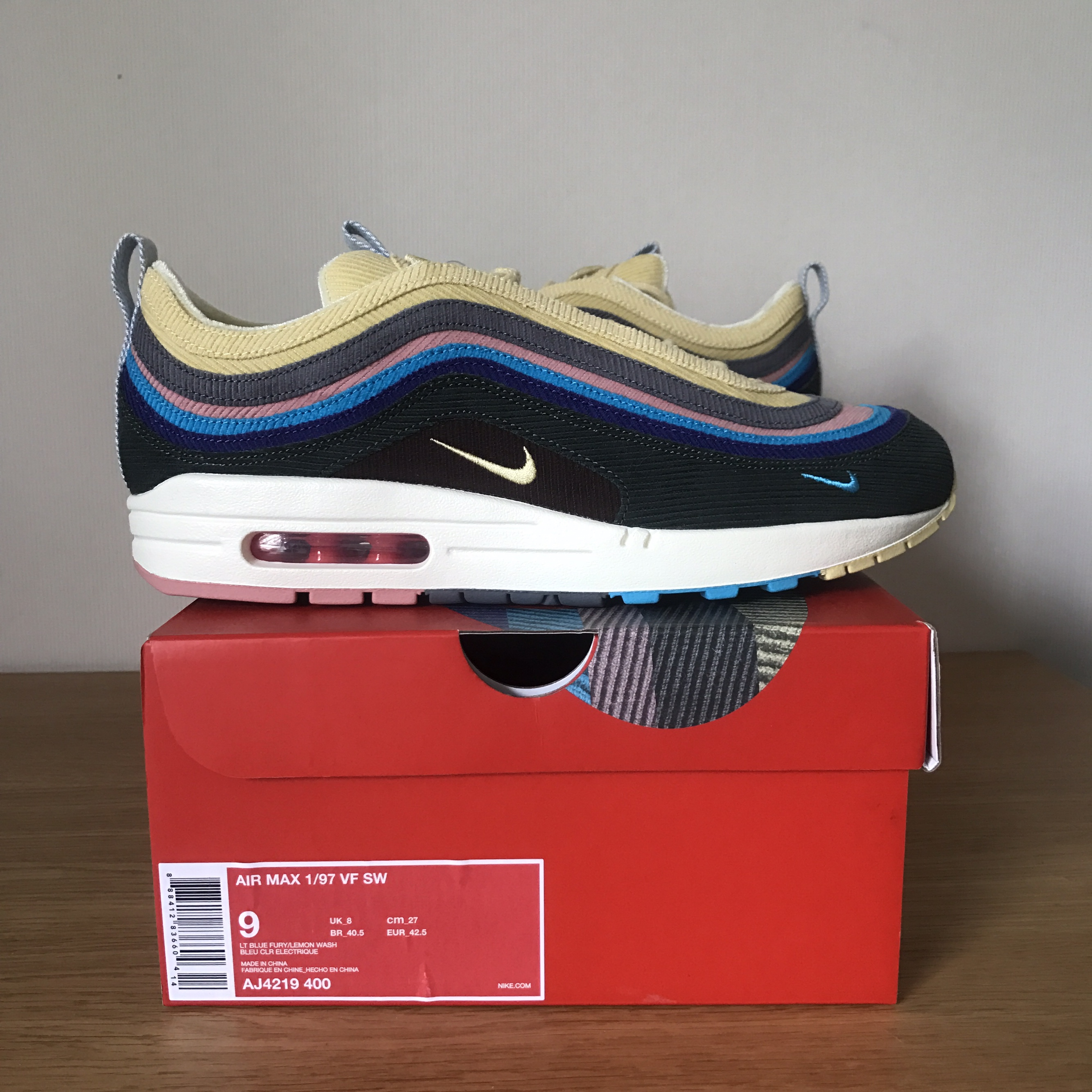 Nike Air Max 197 Sean Wotherspoon, Brand New with