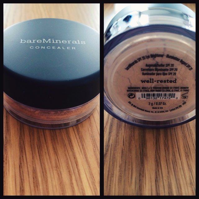 Good As New Bare Minerals Concealer Well Rested Powder
