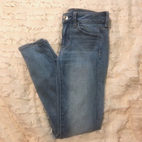 371aaf2c74c  crescentmoods. in 2 hours. United States. Super super stretch american  eagle jeans! brand new only worn once ...
