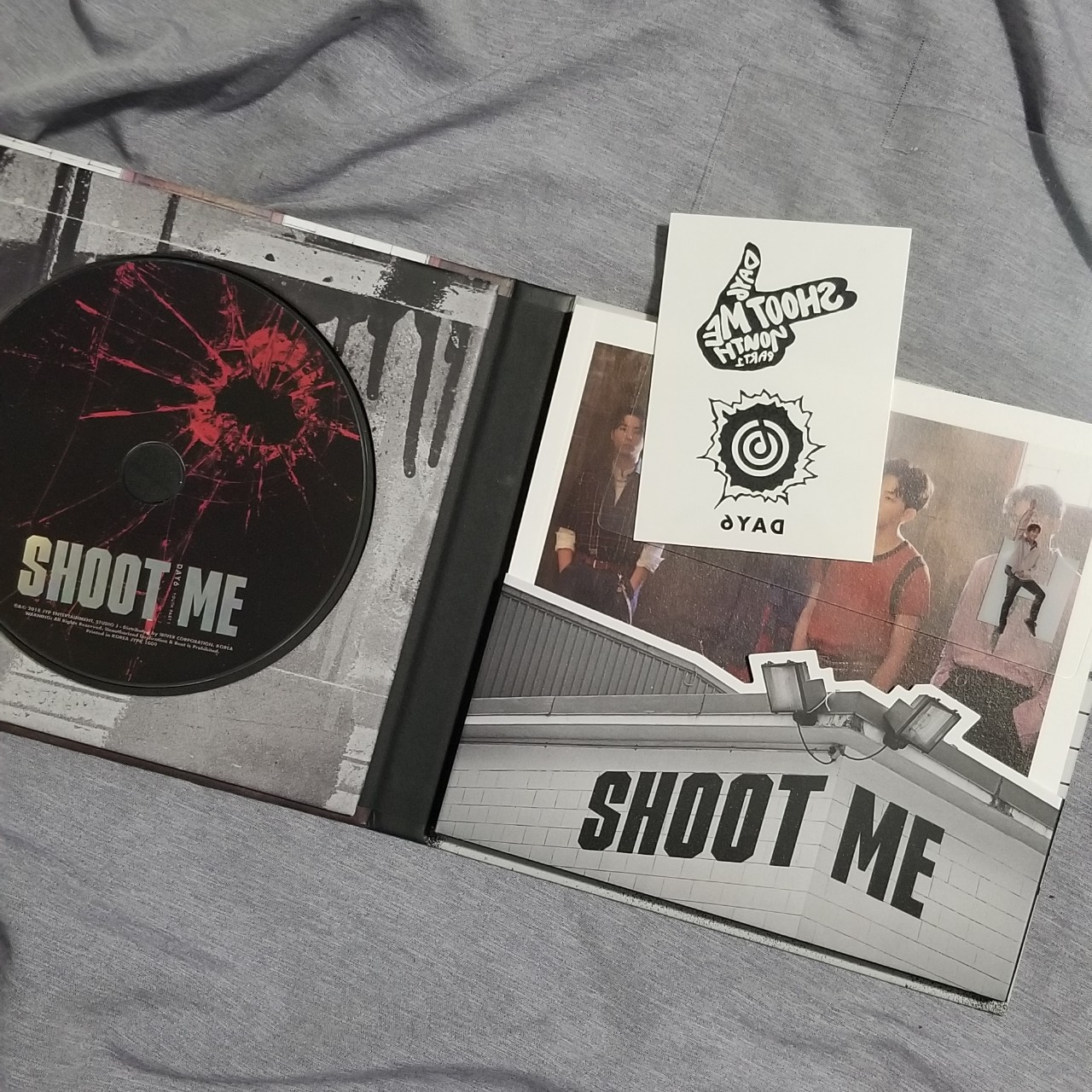 DAY6 Shoot Me Album Great condition, like new! Does    - Depop