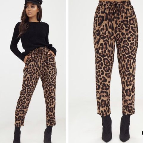 7a6f15cc7b09 @tricia07. 2 months ago. Corby, United Kingdom. Leopard print trousers. Casual  trousers can be dressed up ...
