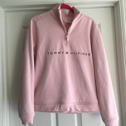4908a877a @scarlettchristy. 5 months ago. Orlando, United States. Gorgeous Pale Baby  Pink Tommy Hilfiger Women's Pullover