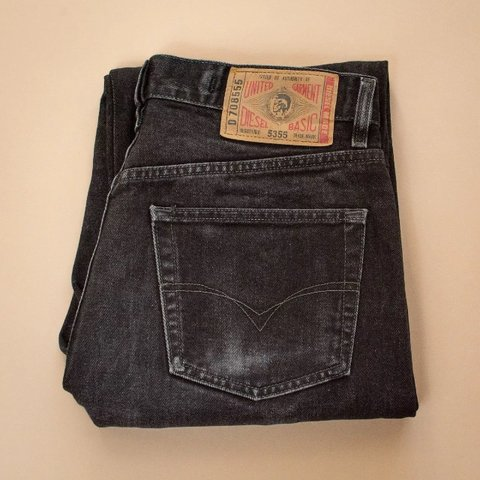 6f5af8f6 ♻ Preloved Vintage Condition ♻ 90's Y2K Diesel Basic Jeans - Depop