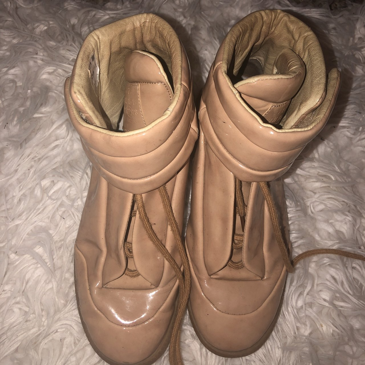 insides Patent Future 37 Margiela High Maison Depop Nude Are Top xawOTqxY