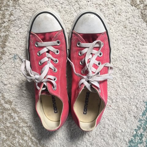 501c533022d3 📦FREE SHIPPING📦 Hot pink   bright red converse. I can t I - Depop