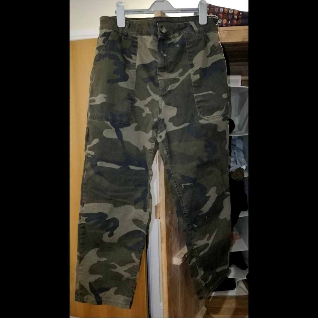 032ec57b Camouflage trousers super stretchy and