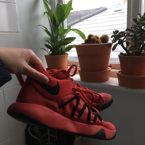 premium selection 5ecf6 a123e  daisy dog04. yesterday. London, United Kingdom. These amazing Nike KD TREY  5 V GYM in the colour red.