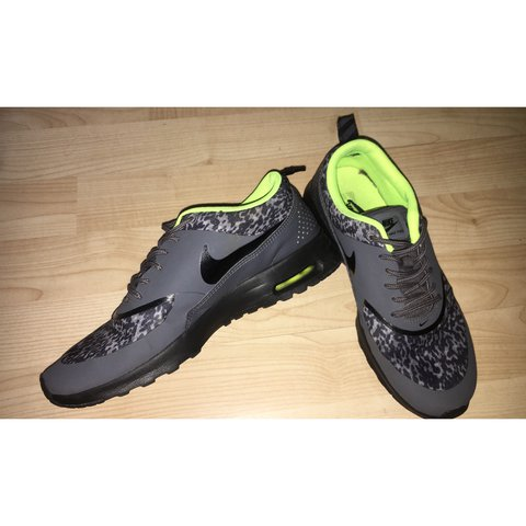 purchase cheap 3e93a c6240 keanasalva. last year. Luton, United Kingdom. Grey Leopard Print Nike Air  Max Thea Trainers UK Size 5.