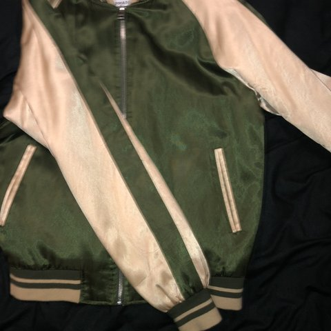 c1fedcaf2e  tommi65. 6 months ago. United Kingdom. Wavey yellow and green bomber jacket
