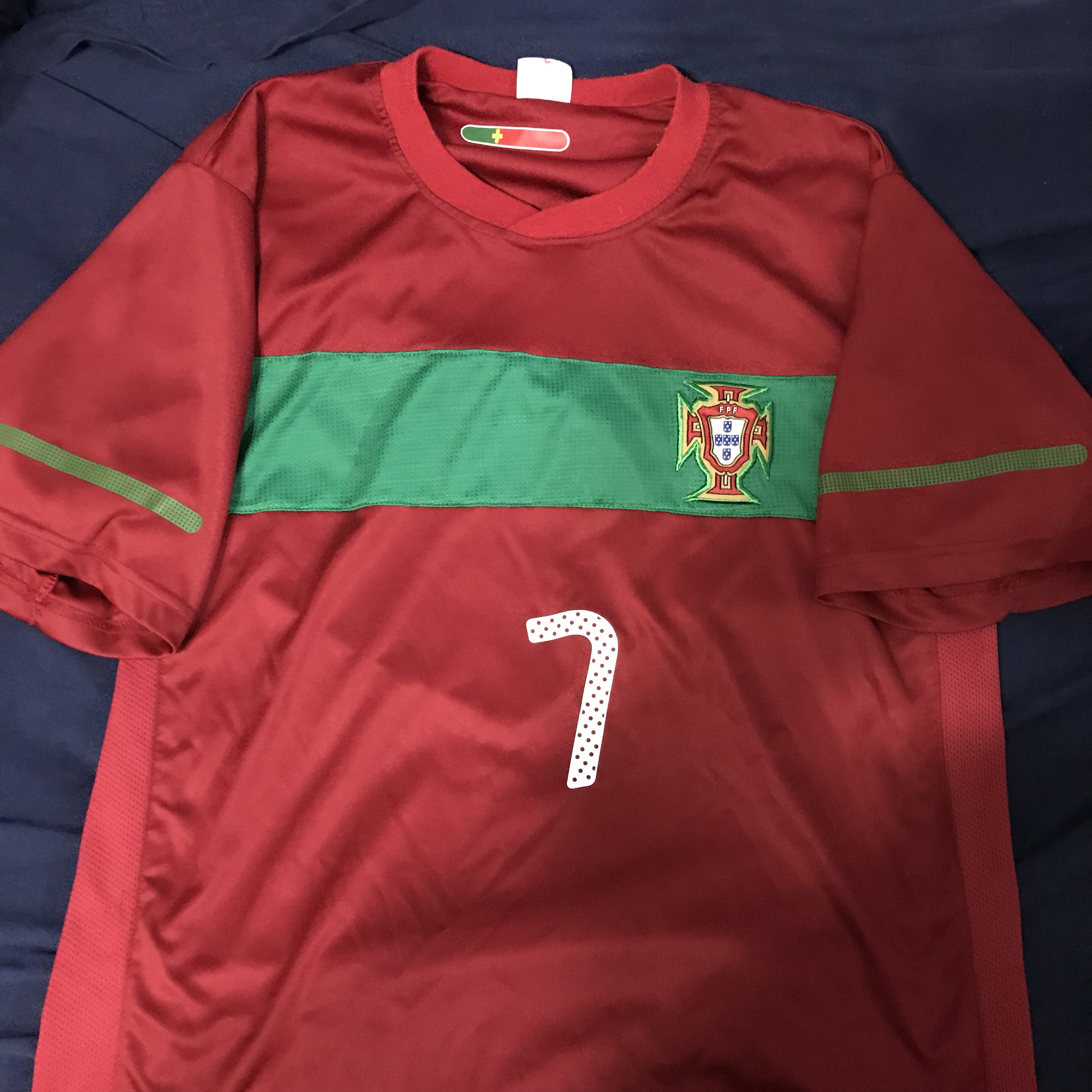 huge discount b1d42 30187 Cristiano Ronaldo Portugal World Cup Jersey from... - Depop